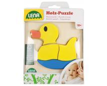Drevené puzzle kačička