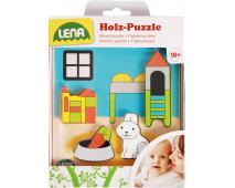 Drevené puzzle detská izba