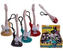 Prívesok plyšová gitara so zvukom 17cm