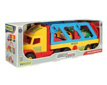 Super truck ťahač s autami