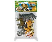 Zvieratá safari v sáčku 5ks