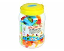 Magnetky písmená + čísla 11x16cm