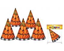Klobúk párty Halloween, 6ks v sáčku