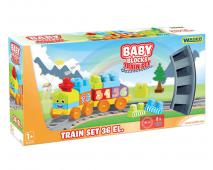 Baby kocky vlaková dráha 1,45m