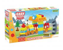 Baby kocky vlaková dráha 2,24m