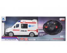 Auto ambulancia R/C 42x17x13cm