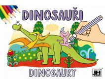 A5 - Dinosaury