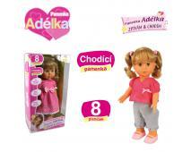 Bábika Adelka chodiaca - 8 pesničiek