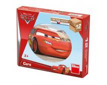 Drevené kocky - Cars 12ks
