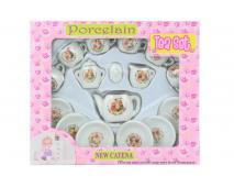 Čajový set porcelánový - medvedíci