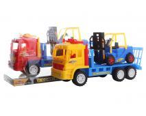Kamión s vysokozdvižným vozíkom 30cm