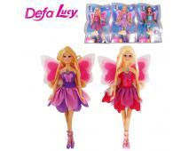 Bábika Lucy s krídlami na karte