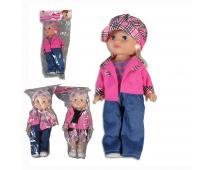 Bábika v sáčku s kartou,33cm