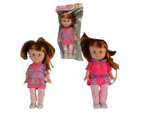 Bábika v sáčku s kartou 27cm