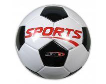 Lopta fotbalová Sports bieločierna