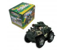 Jeep vojenský na batérie