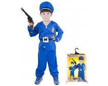 Karnevalový kostým policajt veľ. M
