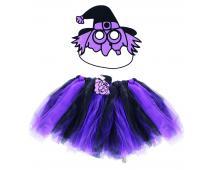 Kostým čarodejnice - tutu + maska