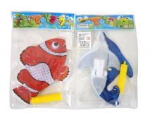 Nafukovacia ryba s pumpičkou
