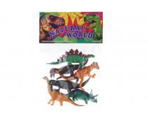 Zvieratá dinosaury v sáčku 18x26cm