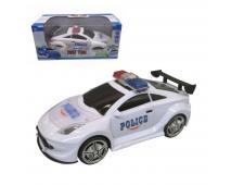 Auto policajné na batérie 18cm
