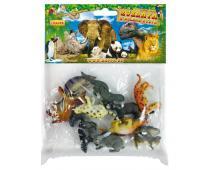 Zvieratá lesné v sáčku 10 ks