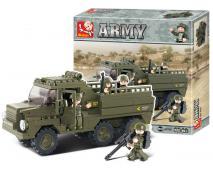 Staveb. Army vozidlo pre transport voj.