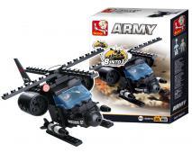 Stavebnica Army 8v1 Helikoptéra 94ks