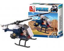 Stavebnica Polícia Helikoptéra 87ks