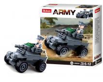 Stavebnica Army kanón 78ks