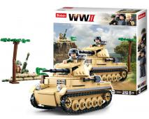 Staveb.Nemecký tank Panzer II 356ks