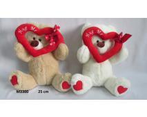 Medveď so srdcom 25cm