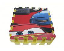 Penové puzzle 9ks CAR