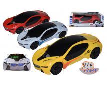 RACING Svietiace auto na batérie