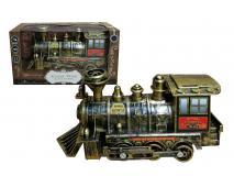 CLASSIC TRAIN Lokomotíva na bat.
