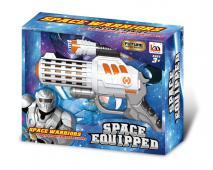 SPACE PATROL Pištoľ na bat., sv.zv.