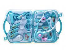 Doktorský set v kufríku modrý