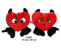 Srdce čert 15x20cm