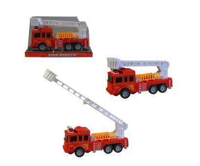 Auto hasičské na zotrvačník 17,5cm