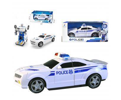 Auto - robot policia svetlo,zvuk 21cm