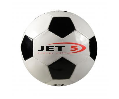 Lopta fotbalová,bieločierna, veľkosť 5