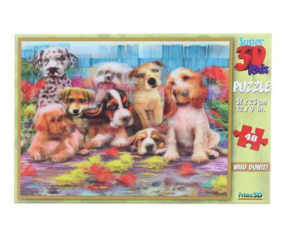 3D Puzzle Psi 48 dielov