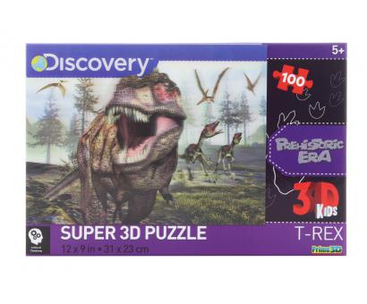 3D Puzzle T- Rex 100 dielov