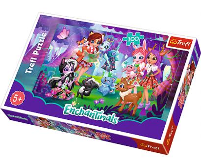 Puzzle 100  Enchantimals