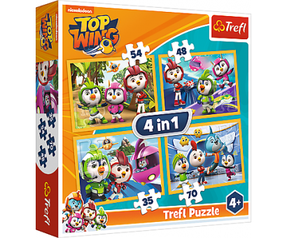 Puzzle 4v1 Top Wing