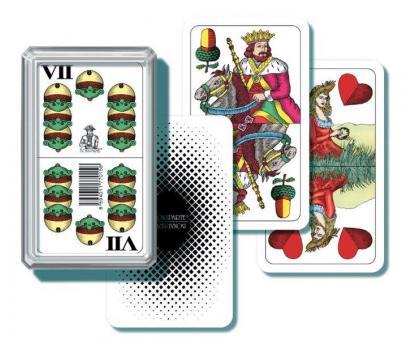 Karty mariáš - plast