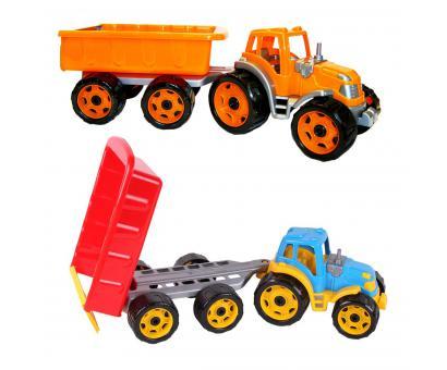 Traktor s vyklápacou vlečkou 56cm