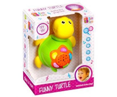 Bam bam zábavná korytnačka