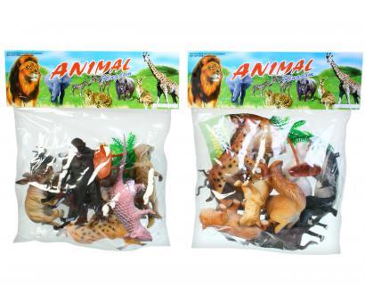 Divoké zvieratká v sáčku 29x33cm