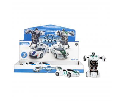 Auto robot Polícia P/B 12cm
